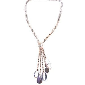 Lia Sophia waterfall necklace